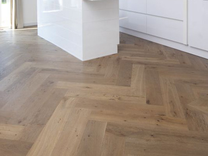 Herringbone Fait À La Main Floortique