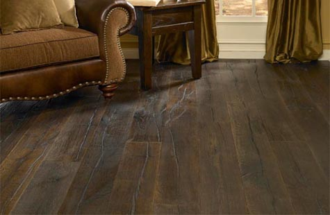 Antique Wood Floor