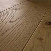 Bevelled wood floor