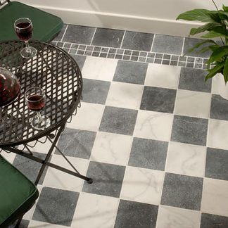 Antique Chequer Marble