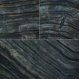 Black Wood Vein Marble Honed