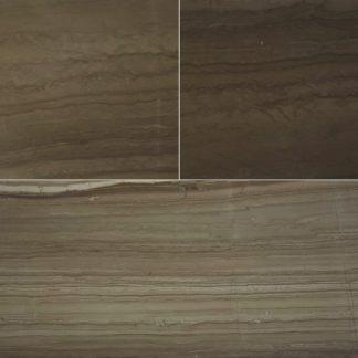 Mocha Wood Vein Marble Honed