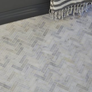 Manhattan Herringbone Marble
