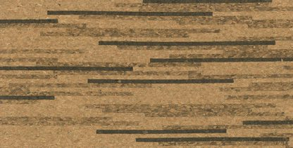 Fineline Dark Elite Glue Down Cork Tile