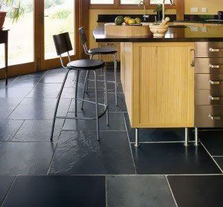 Black Brazilian Slate Large Opus Cleft