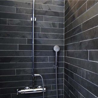 Black Brazilian Slate Strips