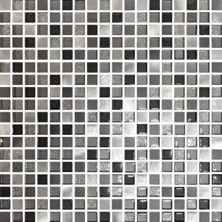 Cordoba Square Glass & Metal Mosaic Tiles
