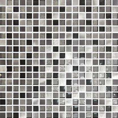 Cordoba Square Glass & Metal Mosaic Tiles