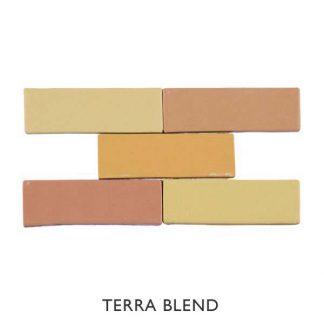 Kaleidoscope Terra Blend 150 x 50mm Brick Ceramic Tiles