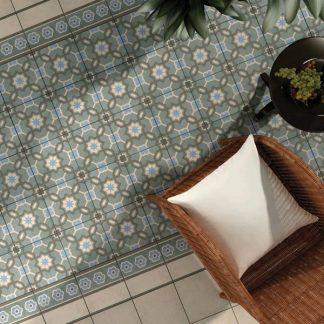 Retro Moroccan Impressions Tile Tile