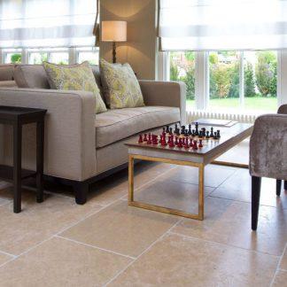 mlet Limestone Tumbled Stone Floor