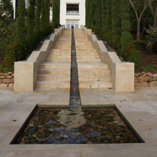 Hamlet Limestone Etched Coping/Tread