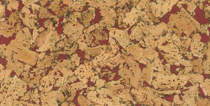 Country Red Decodalle Cork Wall Tile Granorte