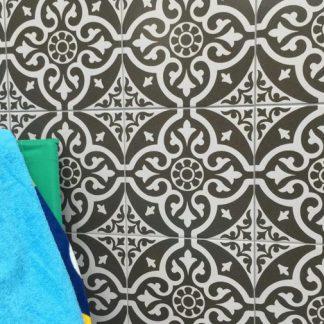 Chantilly Black V&A Tile Floortique