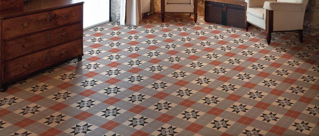 Victoria and Albert Porcelain Tiles Floortique