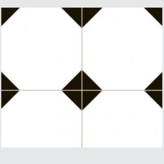 Victorian Insert V&A Tile Floortique