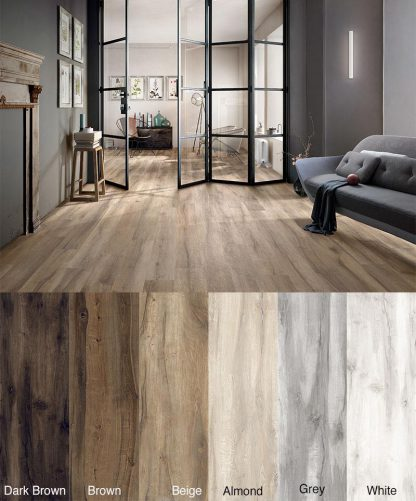 Cluney Wood Effect Porcelain Tiles 1200 x 200