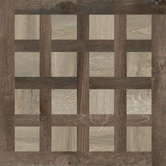 Cluney Beige Wood Parquet Effect Porcelain Tiles 600 x 600