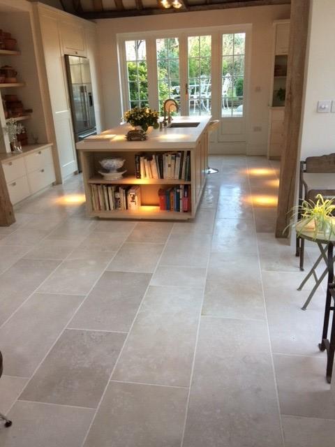 Verona Anticato limestone floor Floortique