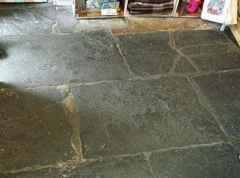 Lindisfarne Stone Floor