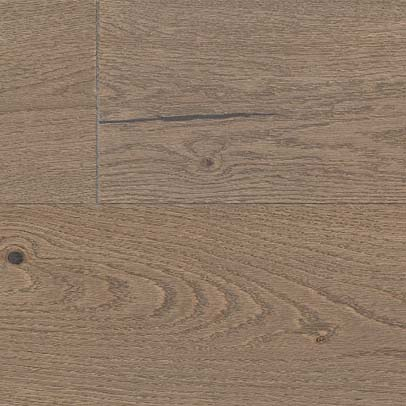 Engineered European Oak; Brushed; 1-Strip Pattern; Oiled Finish; Click System; 4-Sided Bevelled Edge Thickness 14/ 2.5mm Width 155mm Length 2200mm Grade Character